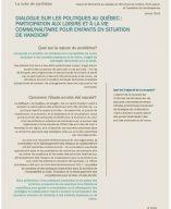 Image de la couverture du document Participation aux loisirs et à la vie communautaire